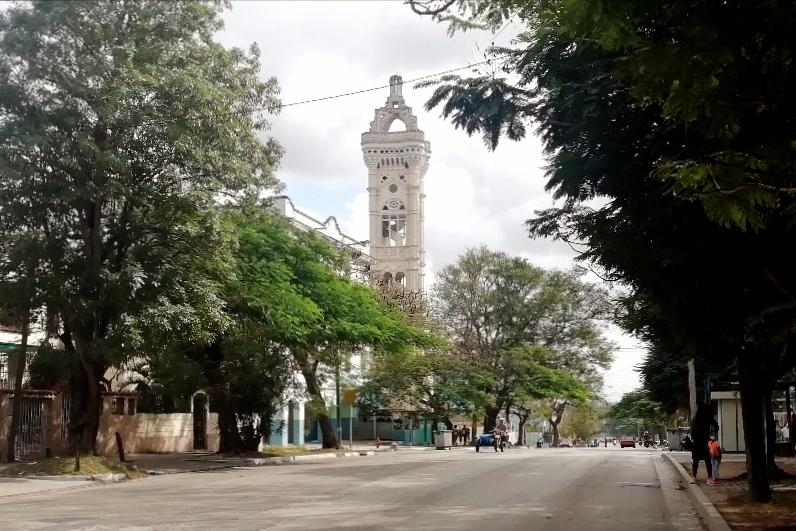 Iglesia de San Juan Bosco vista desde Santa Catalina