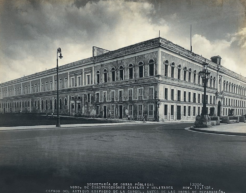 Cárcel de Tacón, en 1931