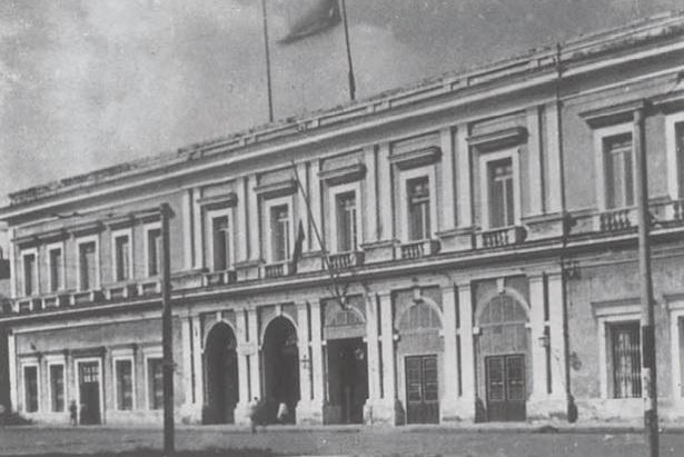Cárcel de Tacón fachada a calle Zulueta