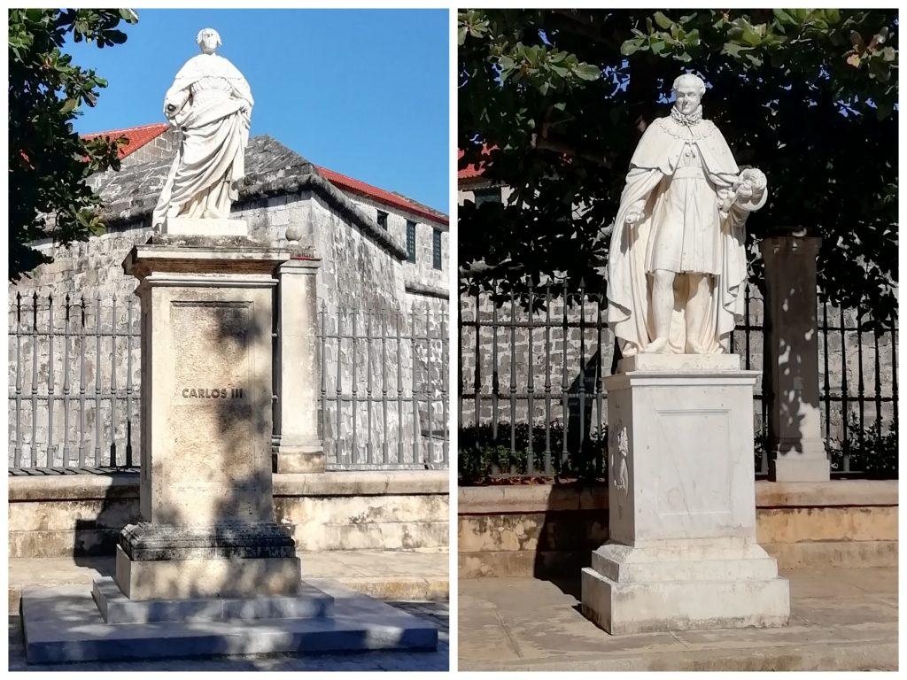 Carlos III y Fernando VII en OReilly