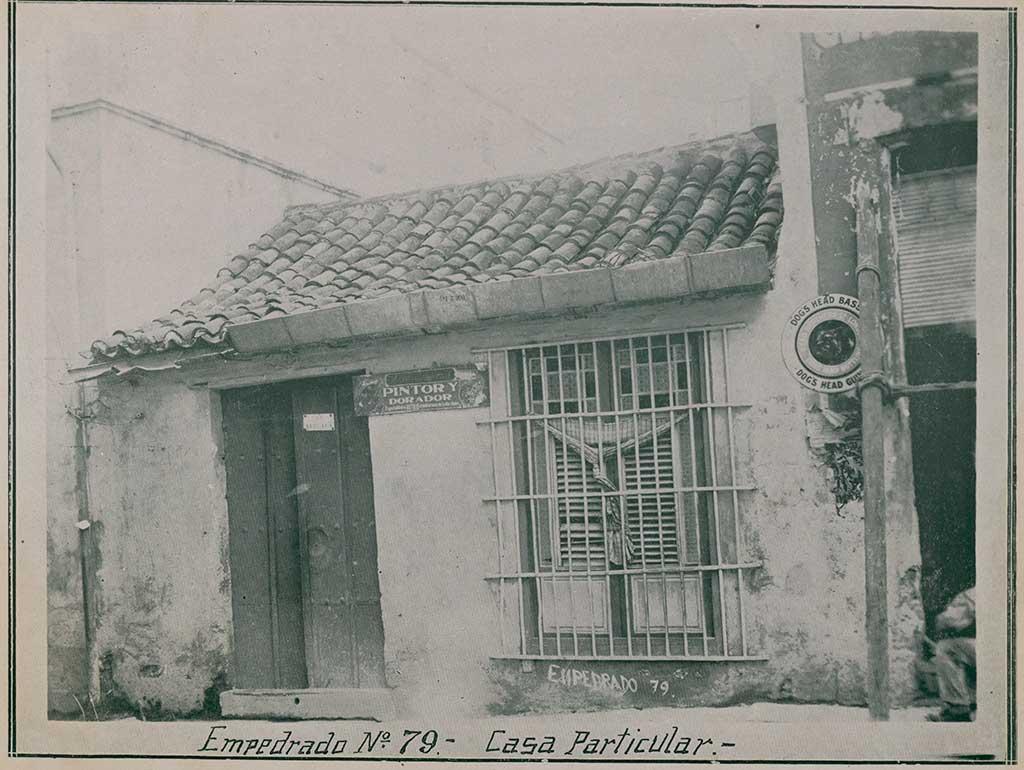 Casa Empedrado 79 (1934)