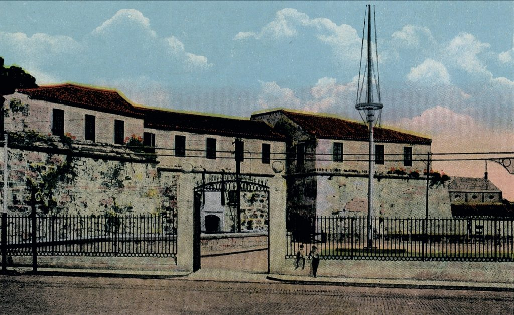 Castillo de la Real Fuerza (La Fuerza) a finales del siglo XIX