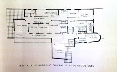 Centro Medico Quirurgico Cuarta planta