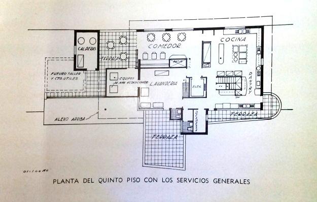 Centro Medico Quirurgico Quinta planta