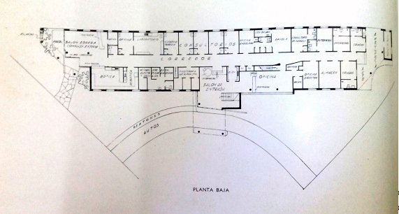 Centro Medico Quirurgico de la Habana Primera planta