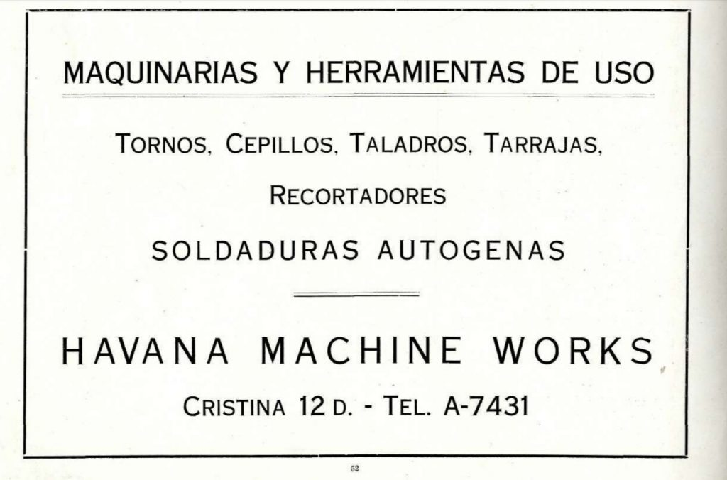 Comercios Cristina publicidad