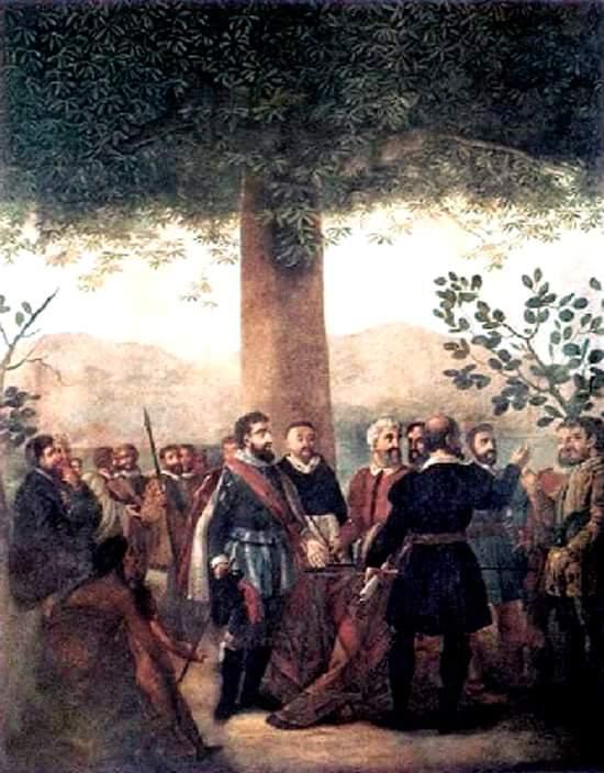 Constitucion del primer Cabildo Juan Bautista Vermay