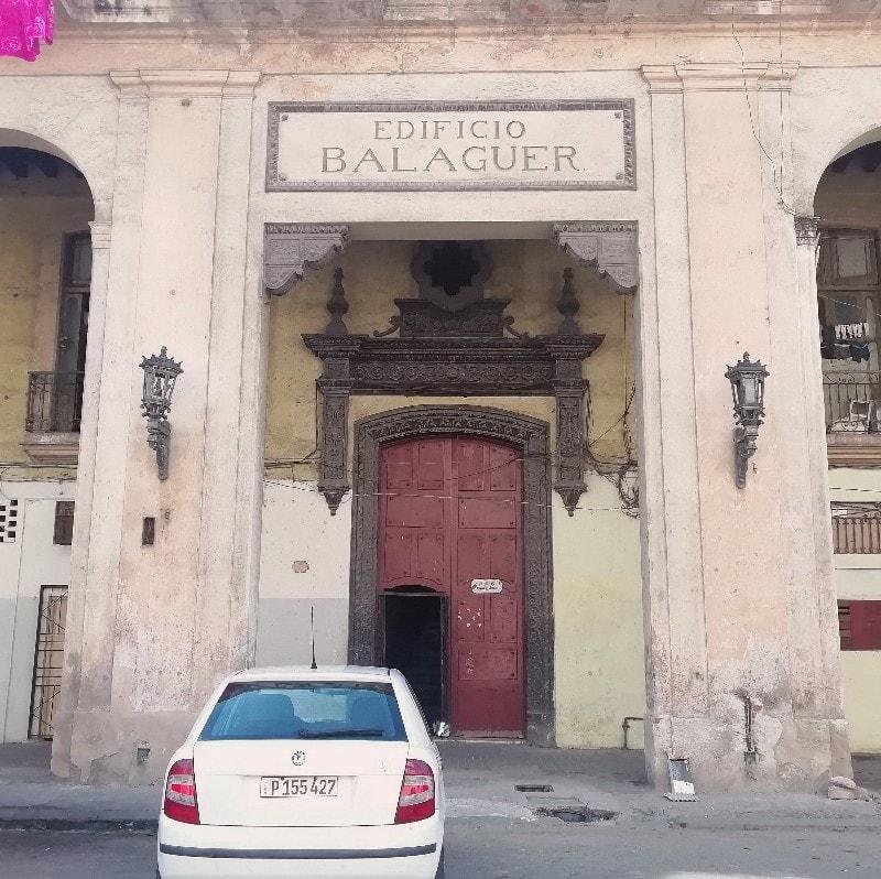 Edificio Balaguer en Calle Ánimas