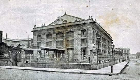 Teatro Irijoa (luego Teatro Martí) en 1892
