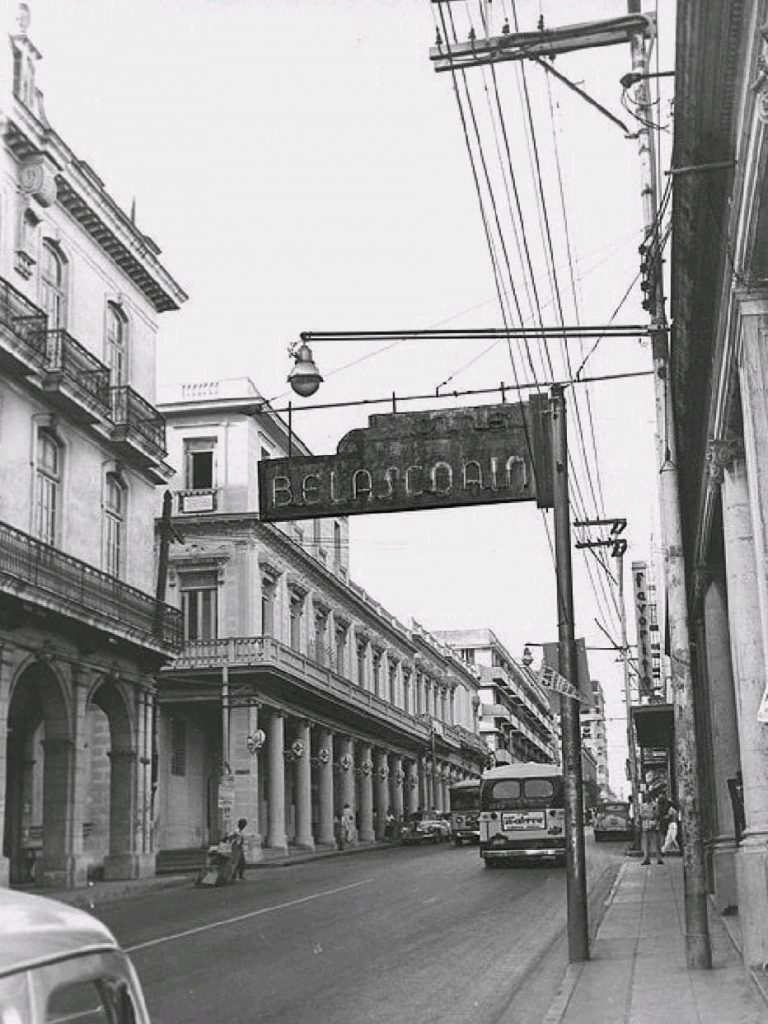 Calle Belascoaín en la década de los 50