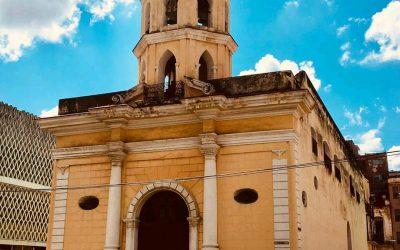 Iglesia de nuestra señora de Monserrate, la más popular de extramuros