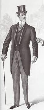 Figurines de moda masculina Chaque 1894