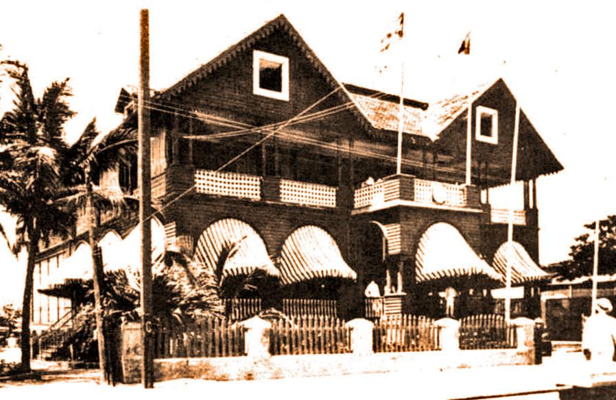 Havana Yacht Club en la Playa de Marianao. 1841
