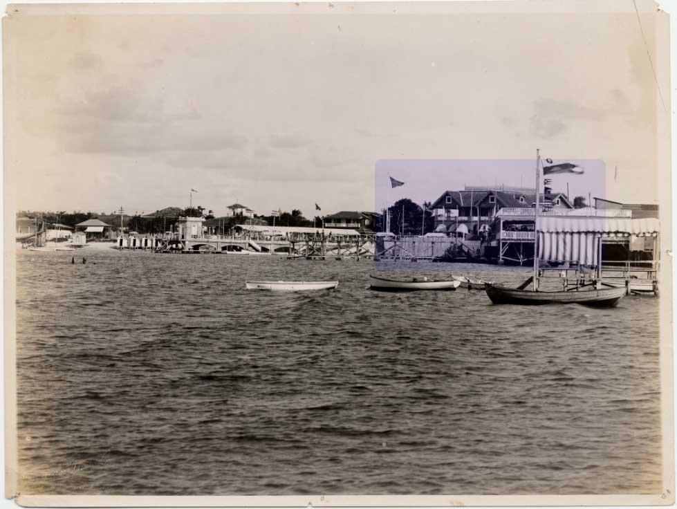 Havana Yacht Club en la Playa de Marianao.