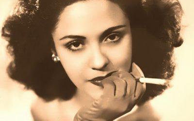 Gina Cabrera dramáticamente bella