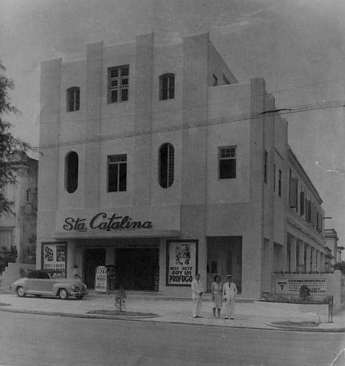 Cine Santa Catalina en 1947