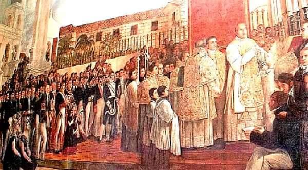 Inauguracion del Templete Juan Bautista Vermsy