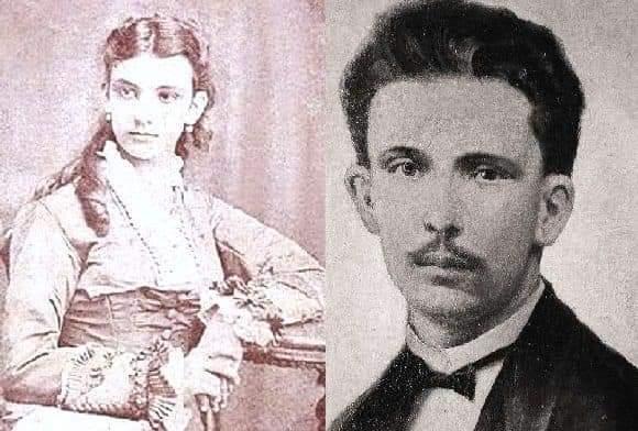 Jose Marti y Maria Garcia Granados la nina de Guatemala
