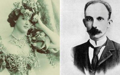 José Martí y «la bailarina española»
