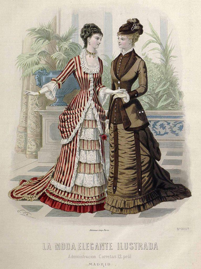 La moda elegante ilustrada 1888