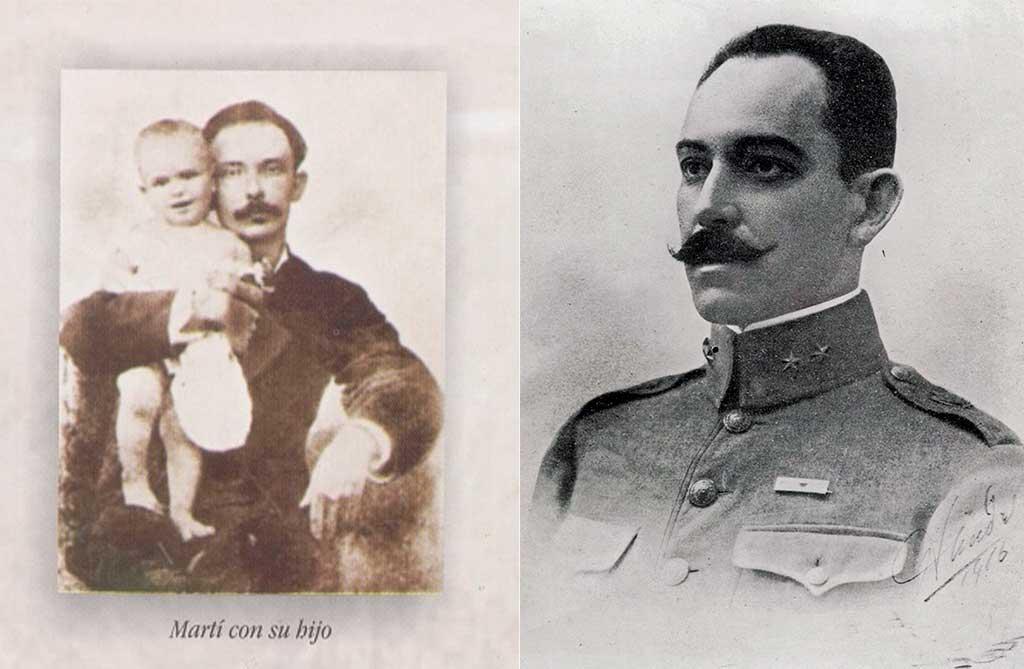 José Martí y su hijo, José Francisco Martí