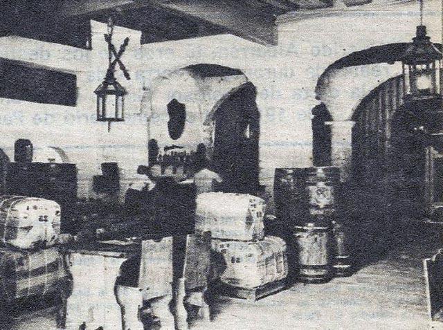 Mesón de la Flota en el Hotel Santa Isabel
