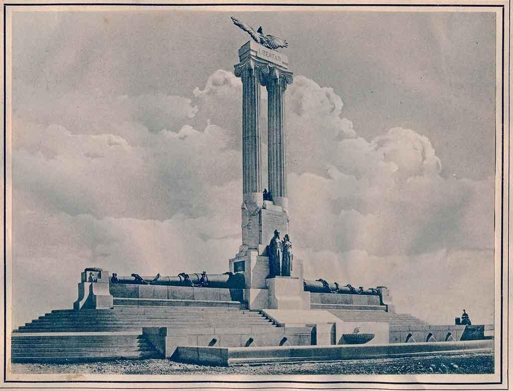 Monumento al U.S.S Maine, en el malecón de La Habana