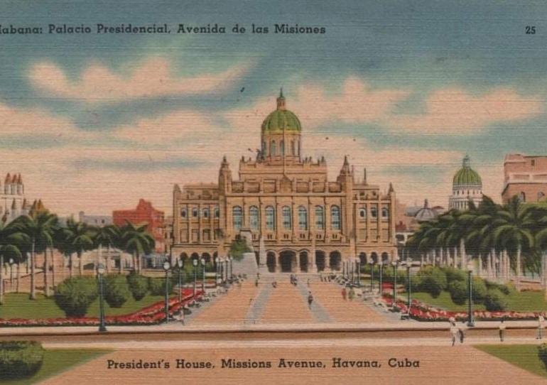 Palacio Presidencial Terraza norte