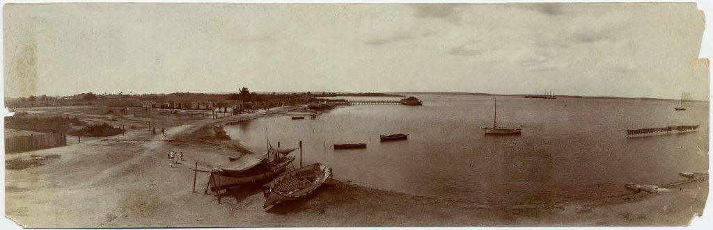 Playa La Concha antes de ser utilizada. Antes de la Intervencion Americana.