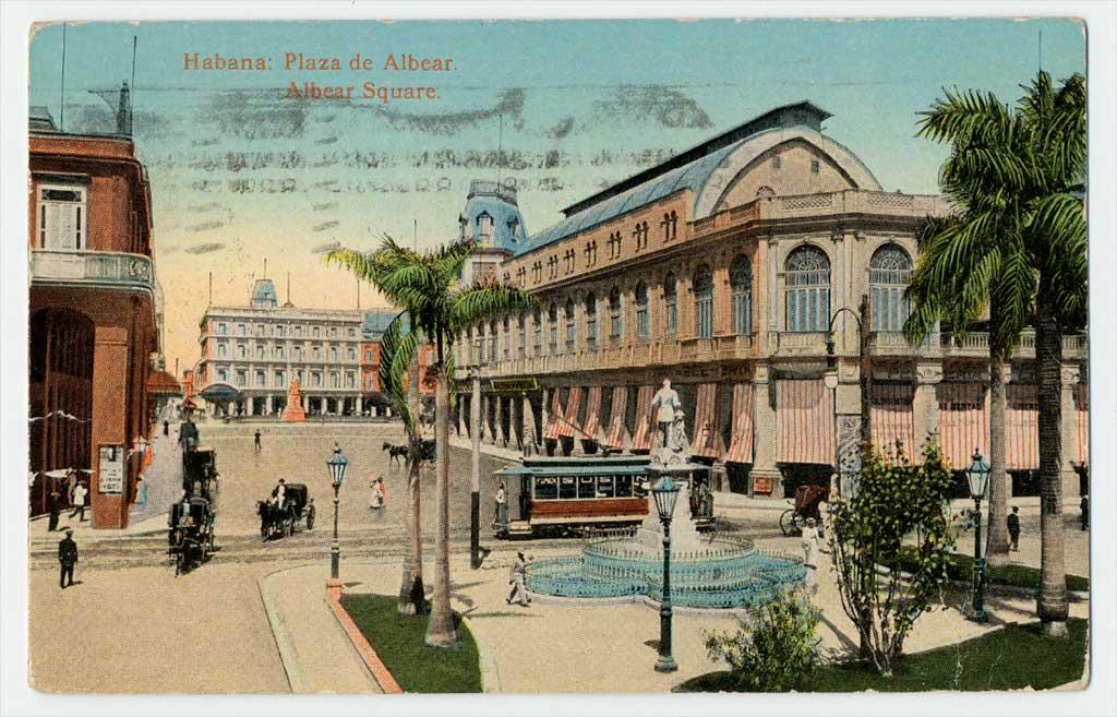 Plaza Albear en 1911
