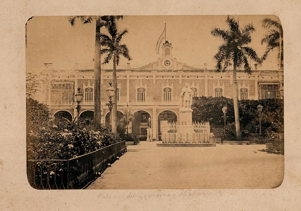 Plaza de Armas de La Habana 1870