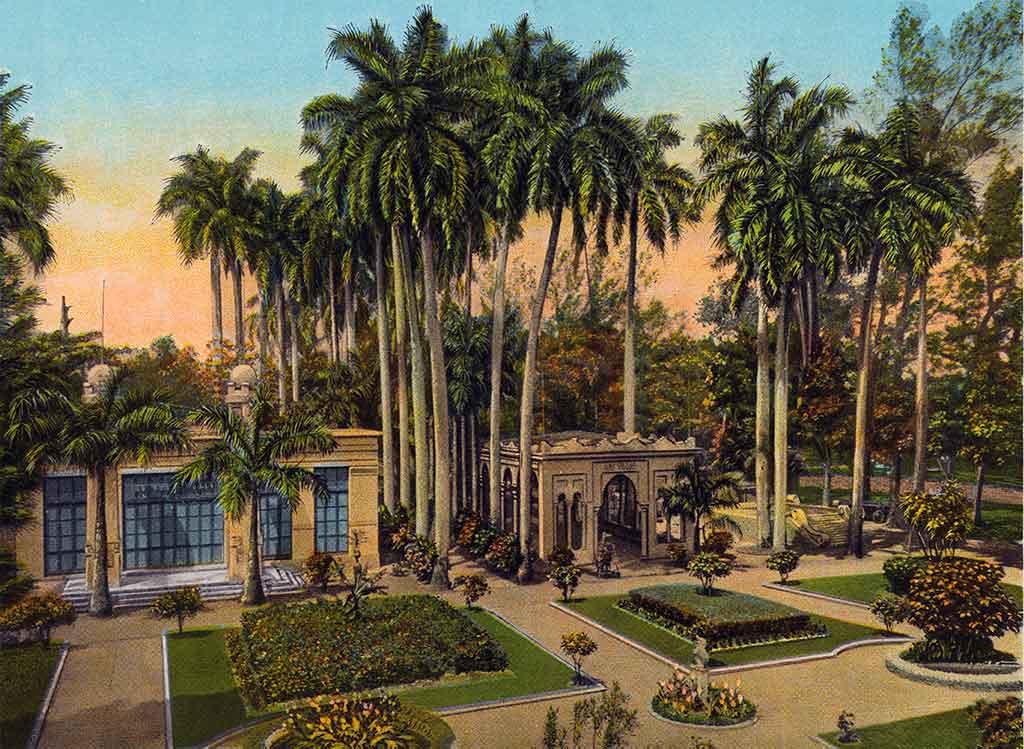 Quinta de Molinos, Habana. Postal