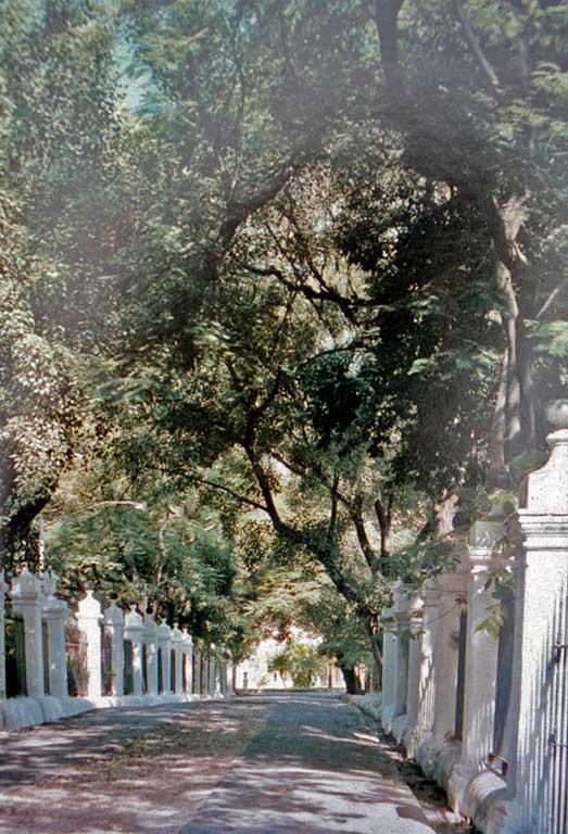 Quinta de Molinos, Habana. Entrada, imagen reciente