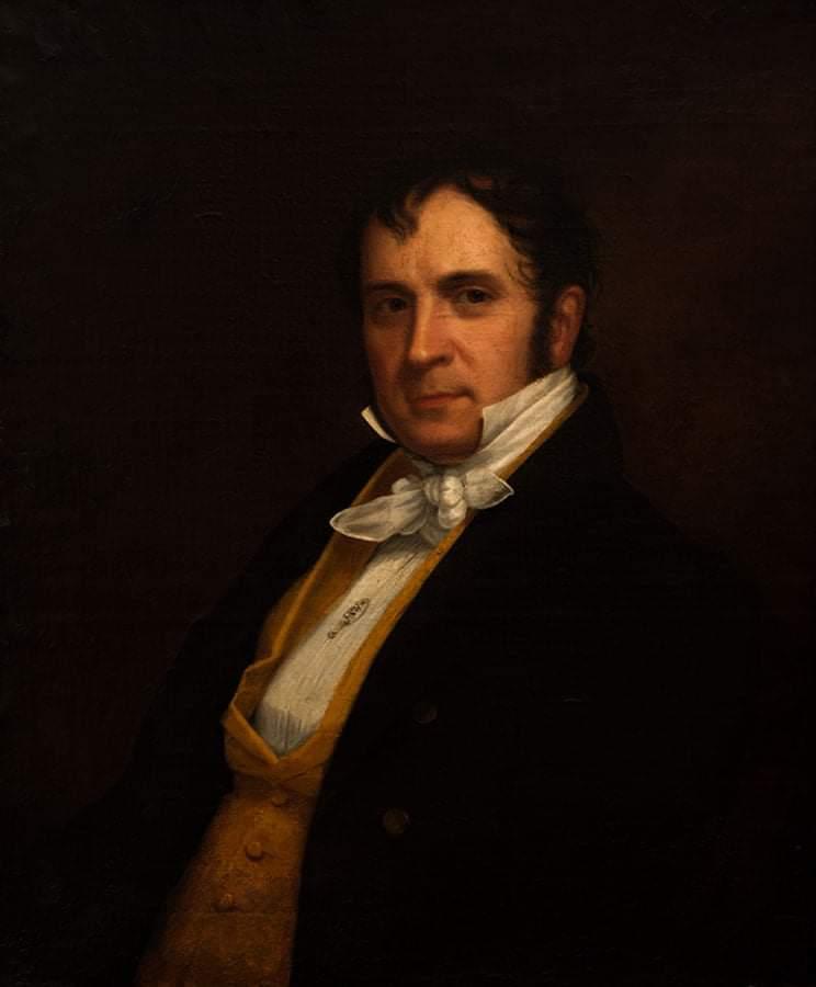 Retrato dde Juan Bautista Vermay (1833) por Eliab Metcalf