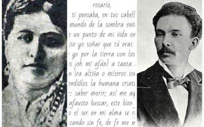 José Martí y Rosario de la Peña Llerena, la «musa mexicana de los poetas románticos»