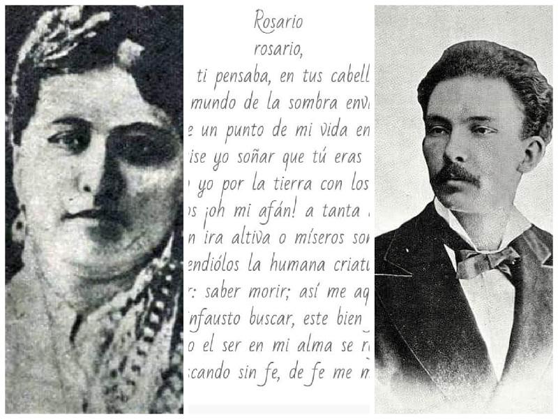 Rosario de la Pena y Jose Marti