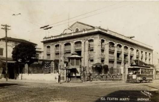 Teatro Marti en 1930
