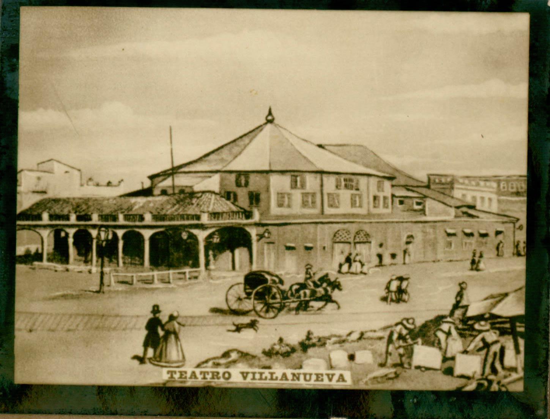 Teatro VIllanueva 1860