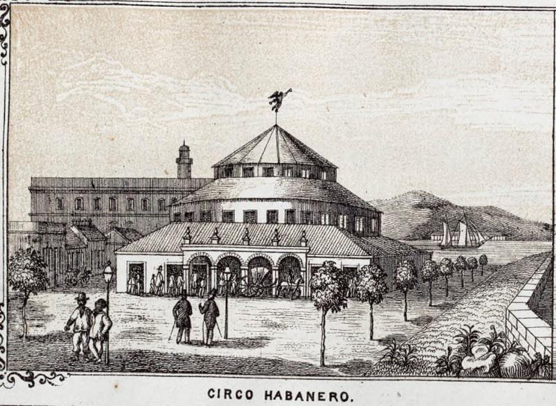 Circo Habanero (Teatro Villanueva) una de las obras emblemáticas construidas por los catalanes en Cubs