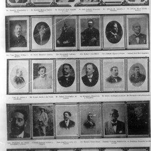 Fundadores de la Academia de la Historia
