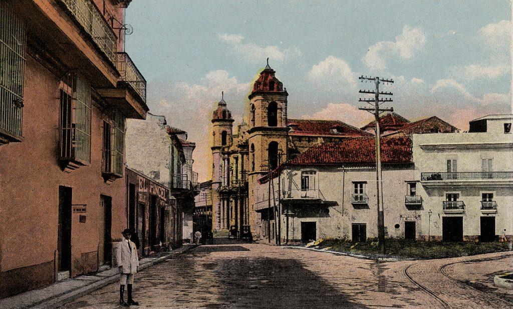 calle Empedrado Finales del XIX