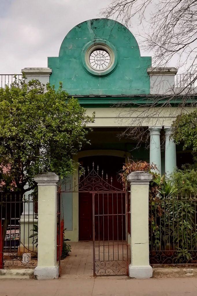 Casa de Juan Bautista Docio en la calle Línea
