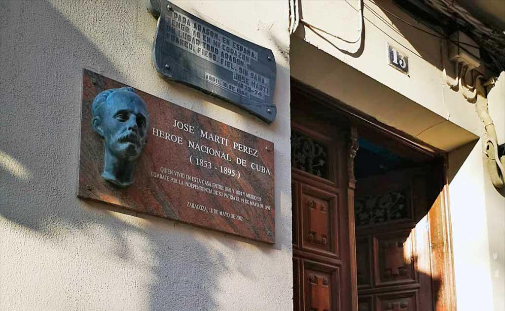 Casa de Martí en Zaragoza