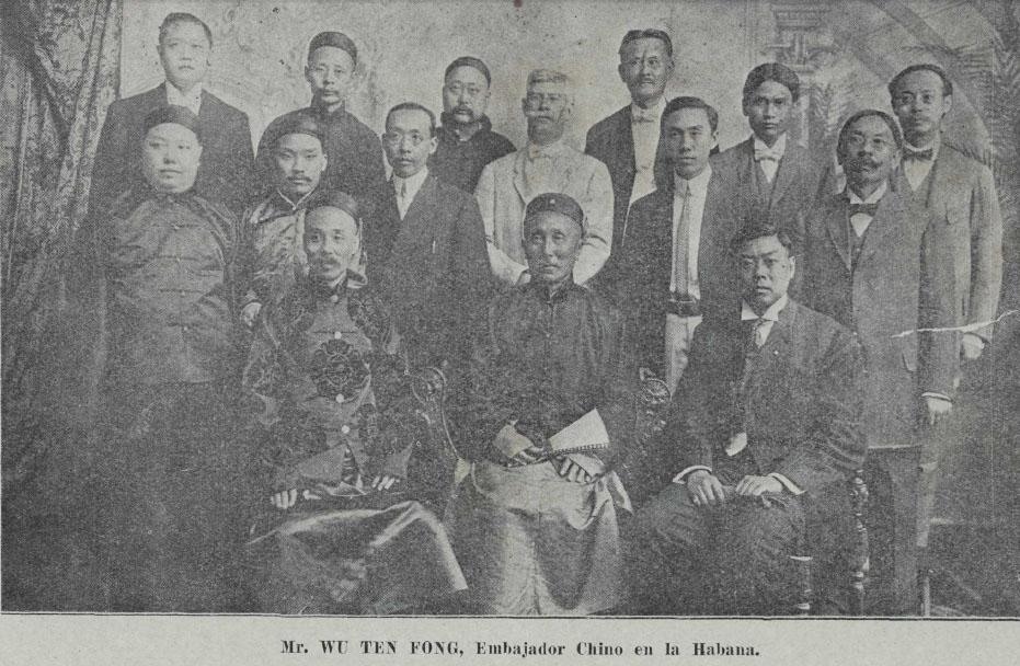 chinos embajada