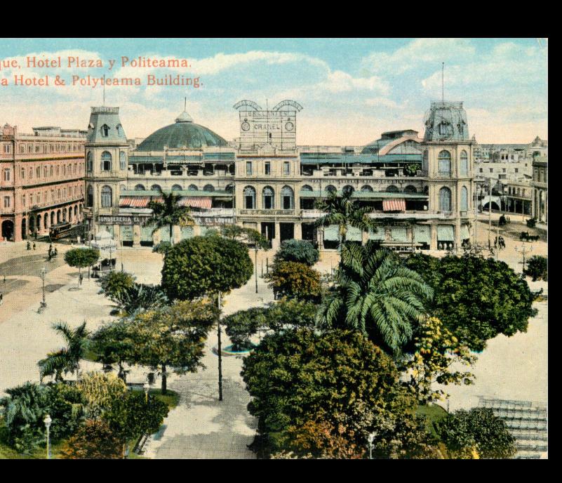 Parque Central y Teatro Politeama