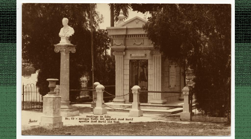 Antigua tumba de José Martí de 1907 a 1951