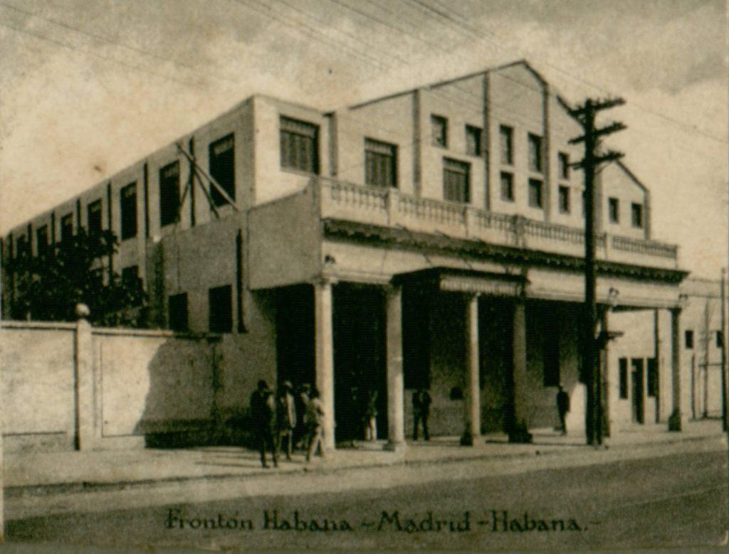 Frontón Jai Alai Habana-Madrid
