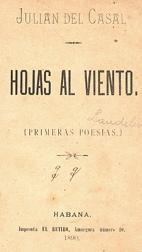 Hojas al Viento. Julian del Casal