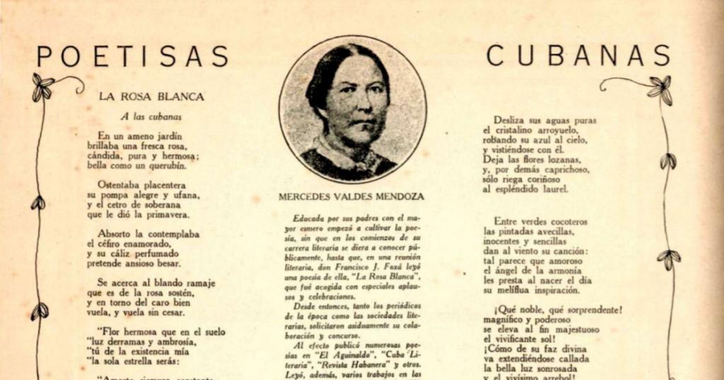 Mercedes Valdés Mendoza