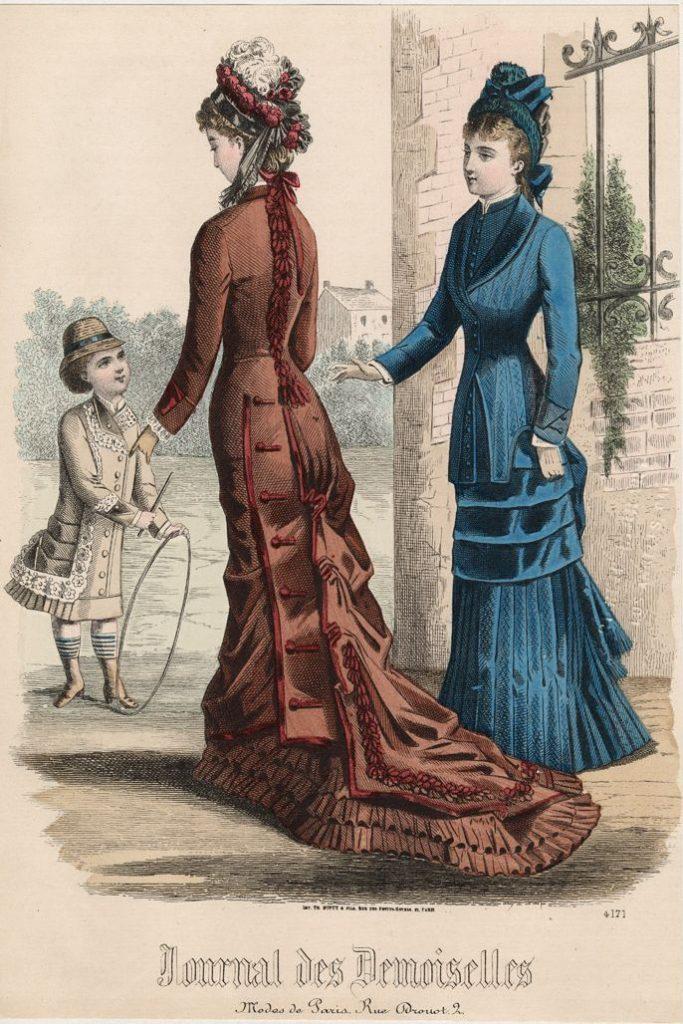 moda francesa 1878